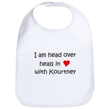 Unique I heart kourtney Bib