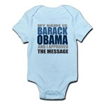 The Message Infant Bodysuit
