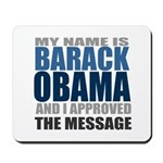 The Message Mousepad