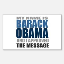 The Message Rectangle Decal