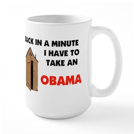 TAKE AN OBAMA Large Mug