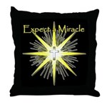 Christian Miracle Throw Pillow