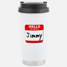 Hello my name is Jimmy Travel Mug