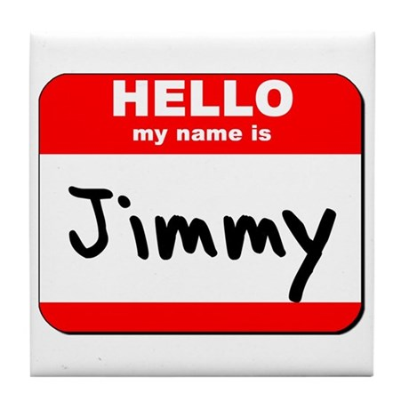 Hello my name is Jimmy Tile Coaster