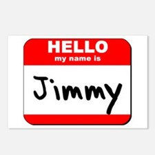 Hello my name is Jimmy Postcards (Package of 8)