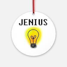 'Jenius' Ornament (Round)