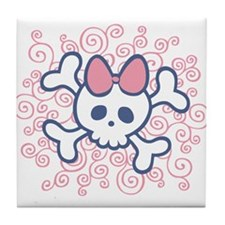 Milly Bow Tile Coaster