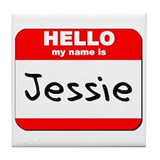 Hello my name is Jessie Tile Coaster
