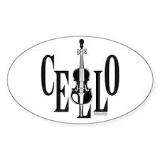 Cello In Cello Decal