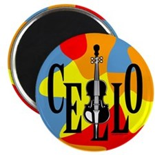 "Cello In Cello 2.25"" Magnet (100 pack)"