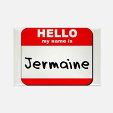 Hello my name is Jermaine Rectangle Magnet