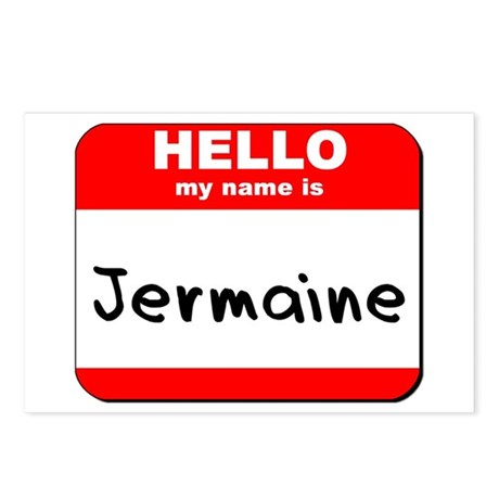 Hello my name is Jermaine Postcards (Package of 8)