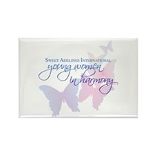 Sweet Adelines International Rectangle Magnet (100