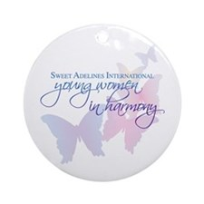 Sweet Adelines International Ornament (Round)