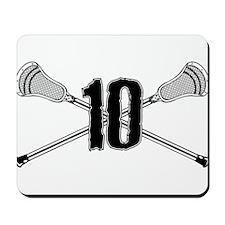 Lacrosse 10 Mousepad
