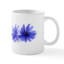Chicory Flower Mug (lavender and white)