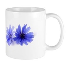 Chicory Flower Mug (lavender and white)