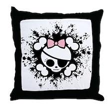 Molly Splat Throw Pillow
