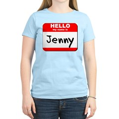 Hello my name is Jenny T-Shirt