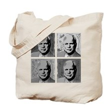 Black & white McCain Tote Bag