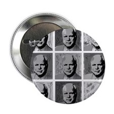 "Black & white McCain 2.25"" Button"