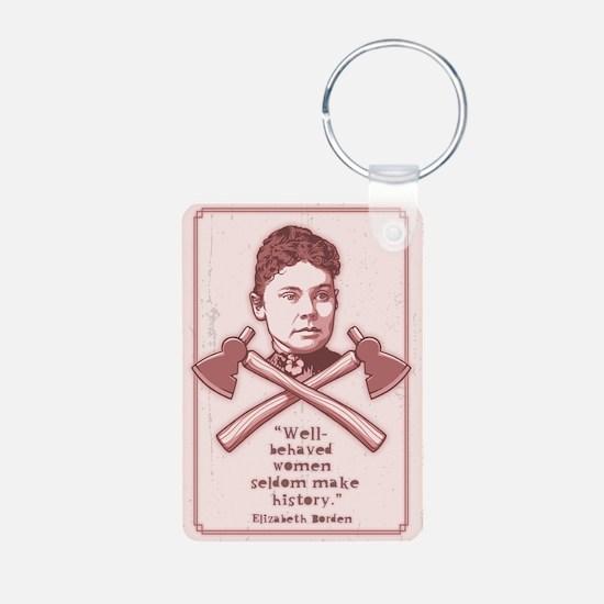 Well Behaved Lizzie Keychains