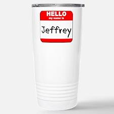 Hello my name is Jeffrey Stainless Steel Travel Mu