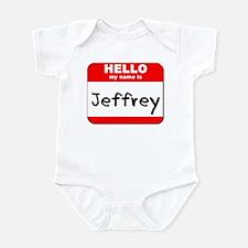 Hello my name is Jeffrey Infant Bodysuit