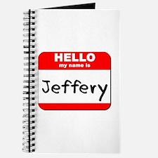 Hello my name is Jeffery Journal