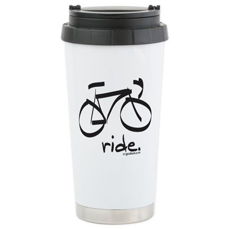 RoadRide: Stainless Steel Travel Mug