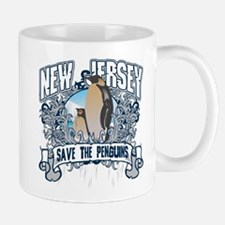 Save the Penguins New Jersey Mug