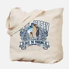 Save the Penguins New Jersey Tote Bag