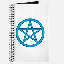 Powder Blue Pentagram Journal