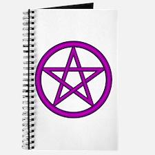 Purple Plum Pentagram Journal