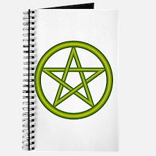 Dragon Green Pentagram Journal