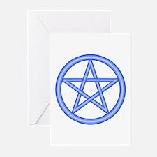 Air Element Pentagram Greeting Cards (Pk of 10