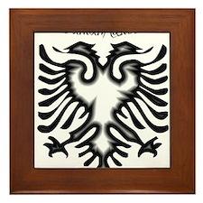Funny Albanian Framed Tile