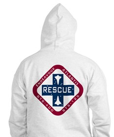 STS-400 Endeavour RESCUE! Hoodie