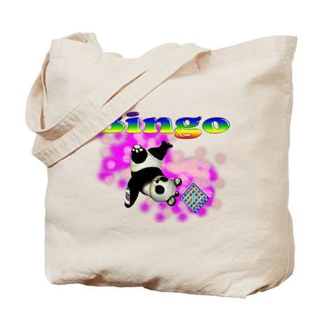 Bingo Panda Spores Tote Bag