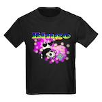 Bingo Panda Spores Kids Dark T-Shirt