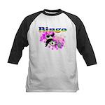 Bingo Panda Spores Kids Baseball Jersey