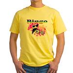 Bingo Panda Spores Yellow T-Shirt