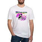 Bingo Panda Spores Fitted T-Shirt