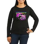Bingo Panda Spores Women's Long Sleeve Dark T-Shir