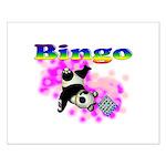 Bingo Panda Spores Small Poster