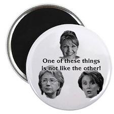 Palin, Hillary & Pelosi Magnet