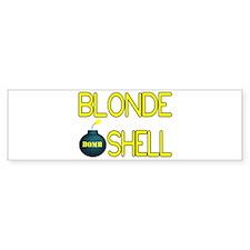 Bombshell Bumper Bumper Sticker