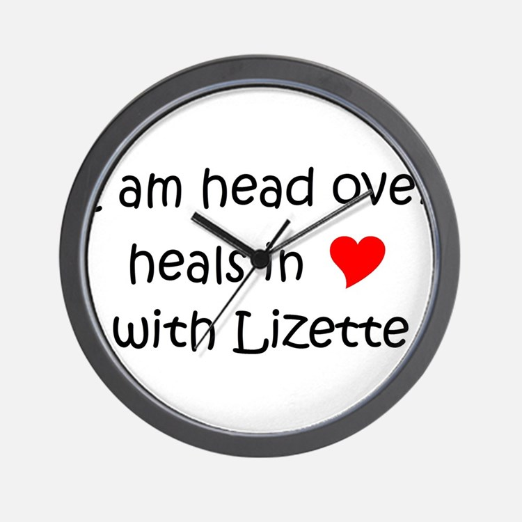 Cute Lizette Wall Clock