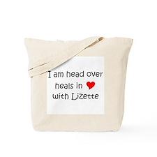 Unique I heart lizette Tote Bag