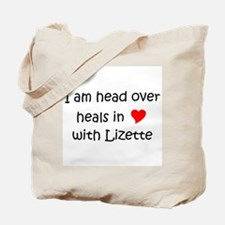 Cute I heart lizette Tote Bag